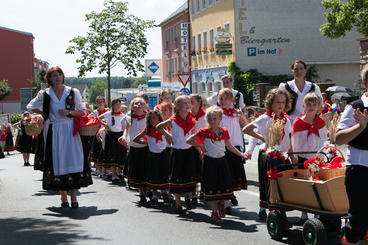 Bilder vom Umzug Folklore-Festival 2016